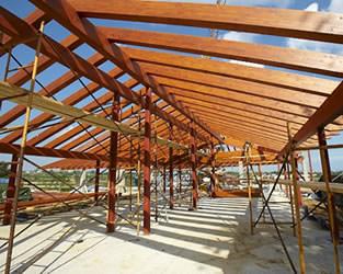 Estructuras de madera - Estructura casa de madera ...