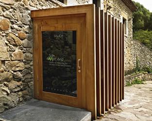 Puertas de entrada de madera - Puertas exterior asturias ...